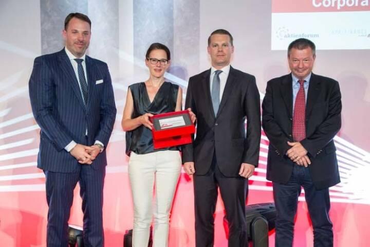 Wiener Börse Preis, Corporate Bond Preis, 3. Platz Immofinanz, Credit: APA-Fotoservice