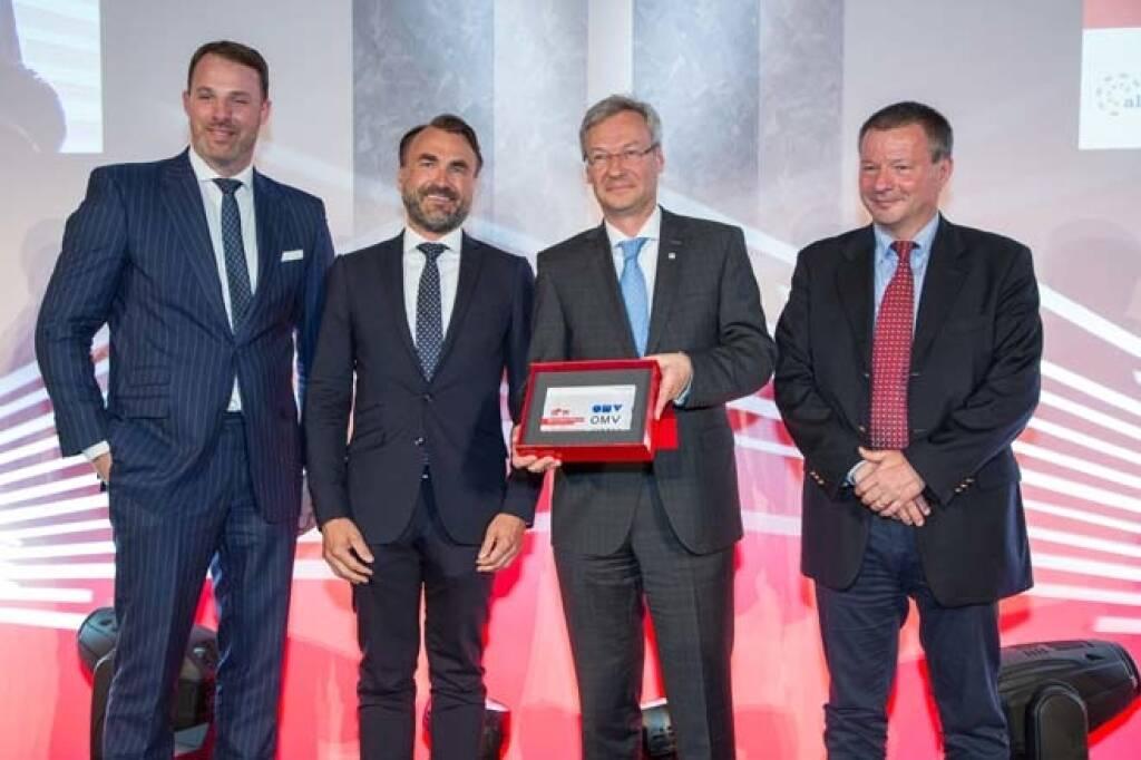 Wiener Börse Preis, Corporate Bond Preis, 2. Platz OMV, Credit: APA-Fotoservice, © APA-Fotoservice/Wiener Börse (22.05.2018)