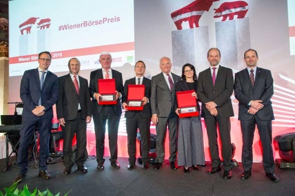 Small & Mid Cap-Preis, alle Sieger, Credit: APA-Fotoservice, © APA-Fotoservice/Wiener Börse (22.05.2018)