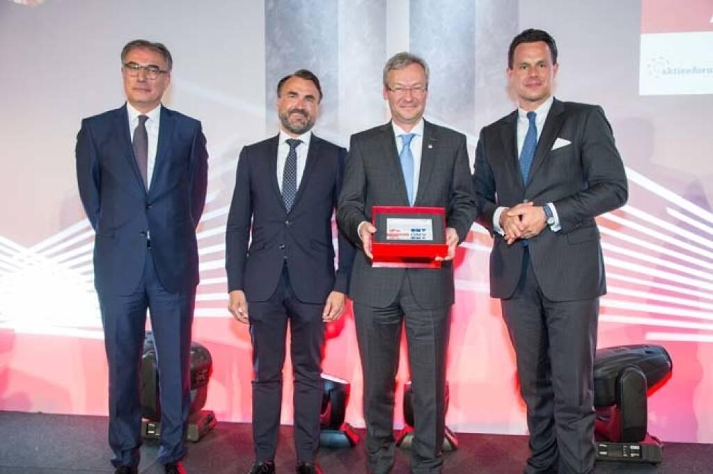 ATX-Preis: 3. Platz: OMV AG, Credit: APA-Fotoservice, © APA-Fotoservice/Wiener Börse (22.05.2018)