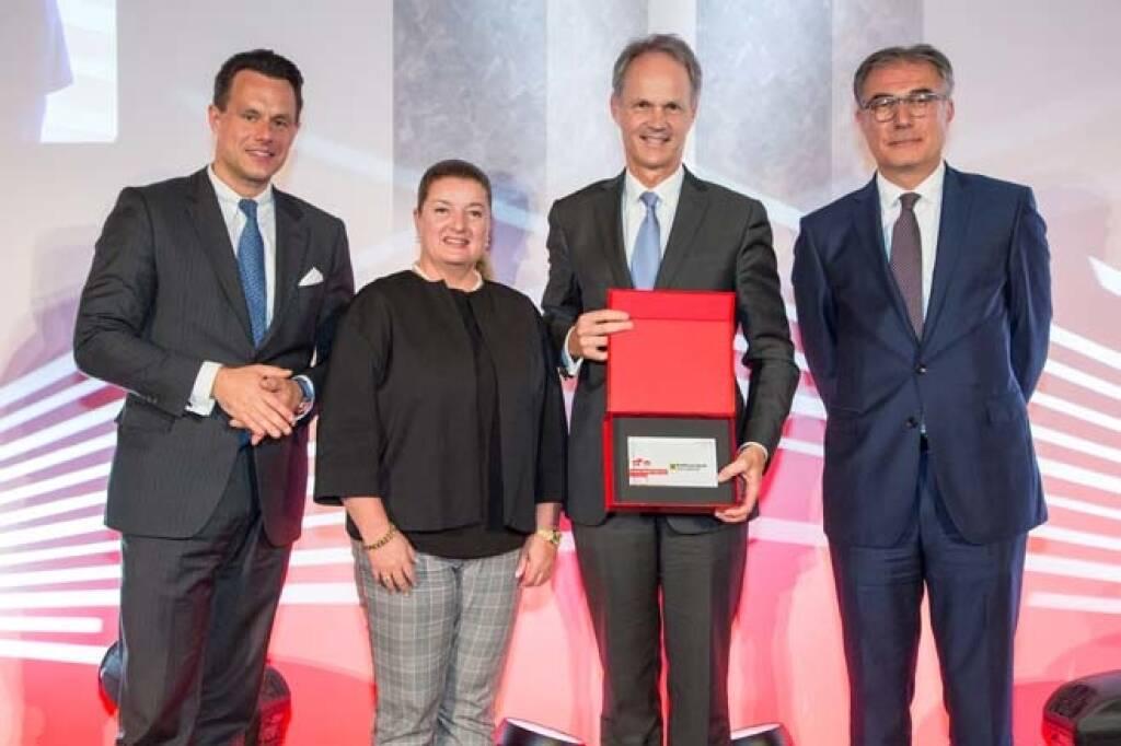 ATX-Preis: 2. Platz: RBI, Credit: APA-Fotoservice, © APA-Fotoservice/Wiener Börse (22.05.2018)