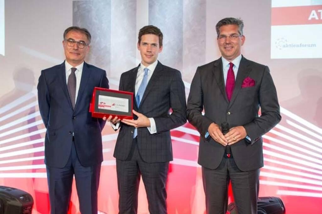 ATX-Preis: 1. Platz: CA Immo, Credit: APA-Fotoservice, © APA-Fotoservice/Wiener Börse (22.05.2018)