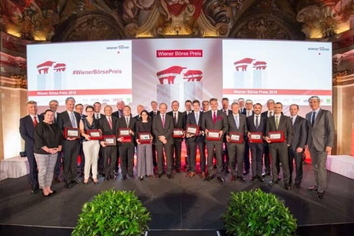 Wiener Börse-Preis, alle Sieger aller Kategorien, Credit: APA-Fotoservice