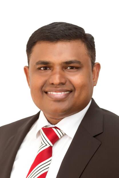 In einer außerordentlichen Sitzung bestellt der Aufsichtsrat der Austrian Anadi Bank den Banker GaneshKumar Krishnamoorthi mit 1. Juni 2018 zum Mitglied des Vorstands. Fotocredit:Austrian Anadi Bank, © Aussendung (25.05.2018)