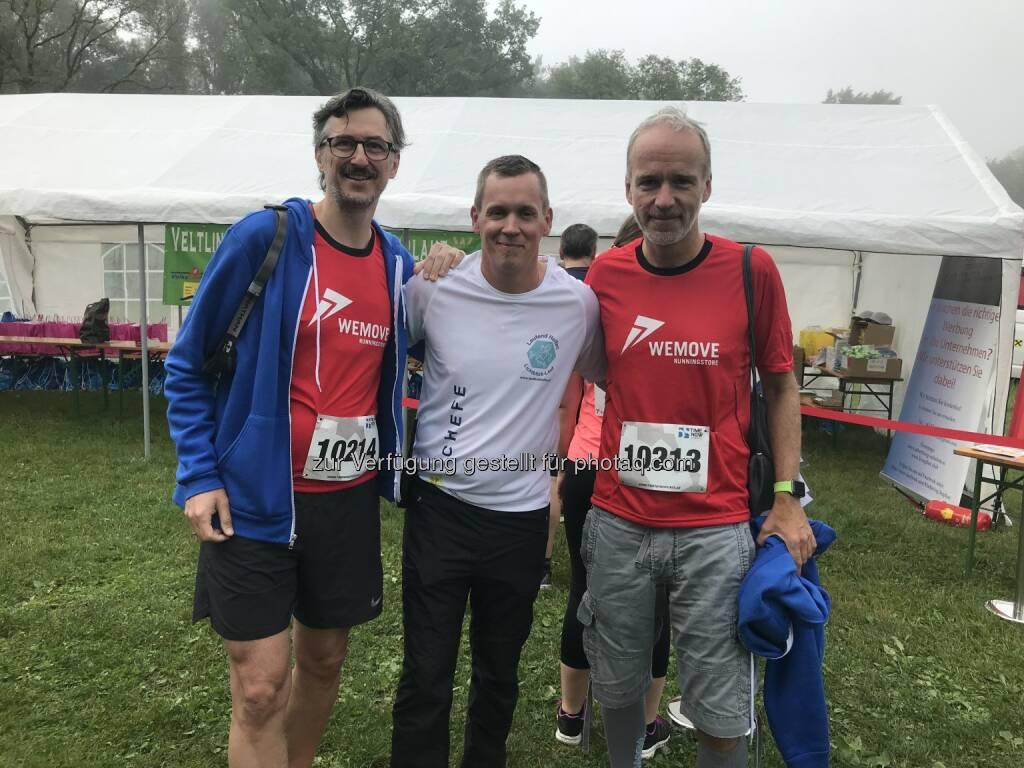Josef Chladek, Markus Riederer, Christian Drastil (26.05.2018)