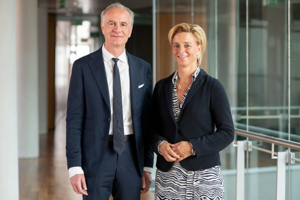 UNIQA Insurance Group AG: Die international erfahrene Bankmanagerin Valerie Brunner und der renommierte Technologieforscher Elgar Fleisch wurden von der Hauptversammlung in den Aufsichtsrat gewählt. Fotocredit: UNIQA/Keinrath, © Aussender (28.05.2018)
