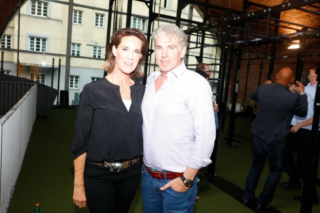 Societylady Katharina Stumpf und Lebensgefährte Alexander Beza; © Stefan Joham (29.05.2018)