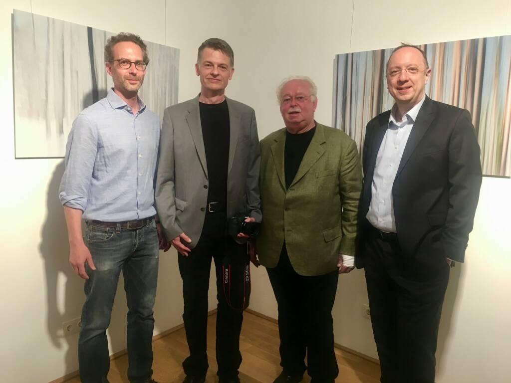 Daniel Folian (Warimpex-Vorstand), Fritz Erhart, Georg Folian (früherer Warimpex-Vorstand), Roman Eisenschenk (Kepler Cheuvreux) (30.05.2018)