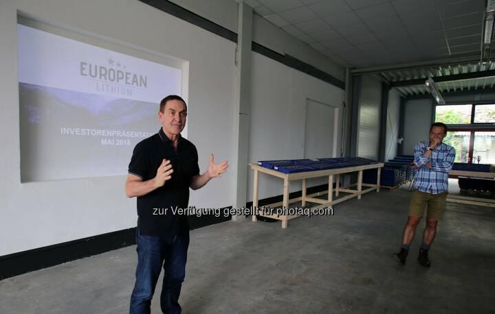 Chairman Tony Sage, European Lithium