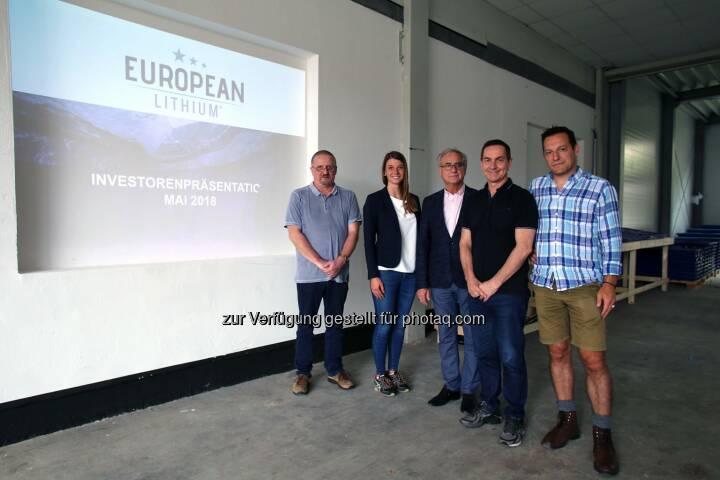 Dietrich Wanke, Katharina Löckinger, Tony Sage, Stefan Müller