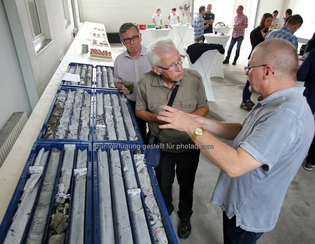 MinenTag European Lithium 2018, Bohrproben, © European Lithium (31.05.2018)