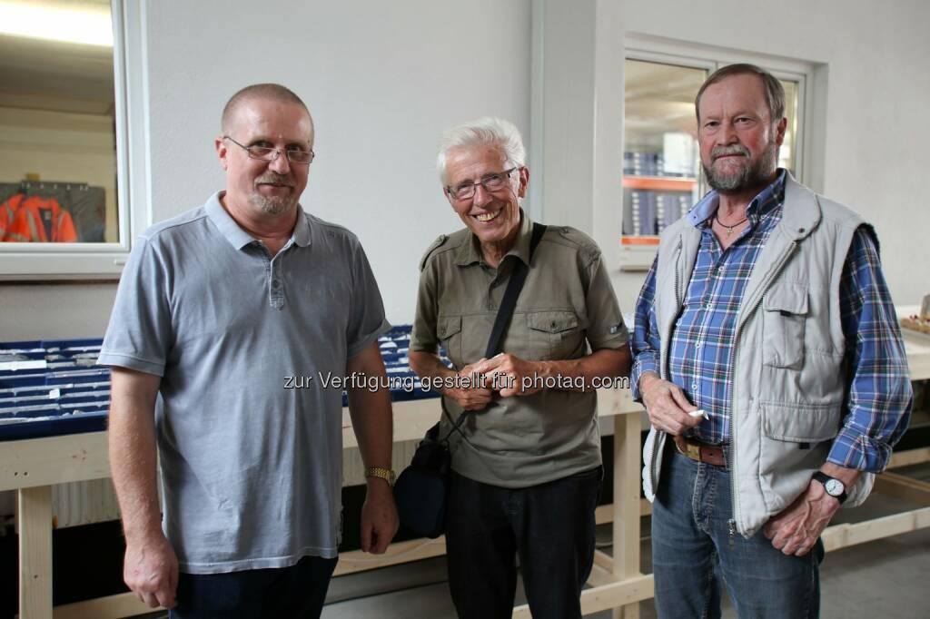 Dietrich Wanke (links), MinenTag European Lithium 2018, © European Lithium (31.05.2018)