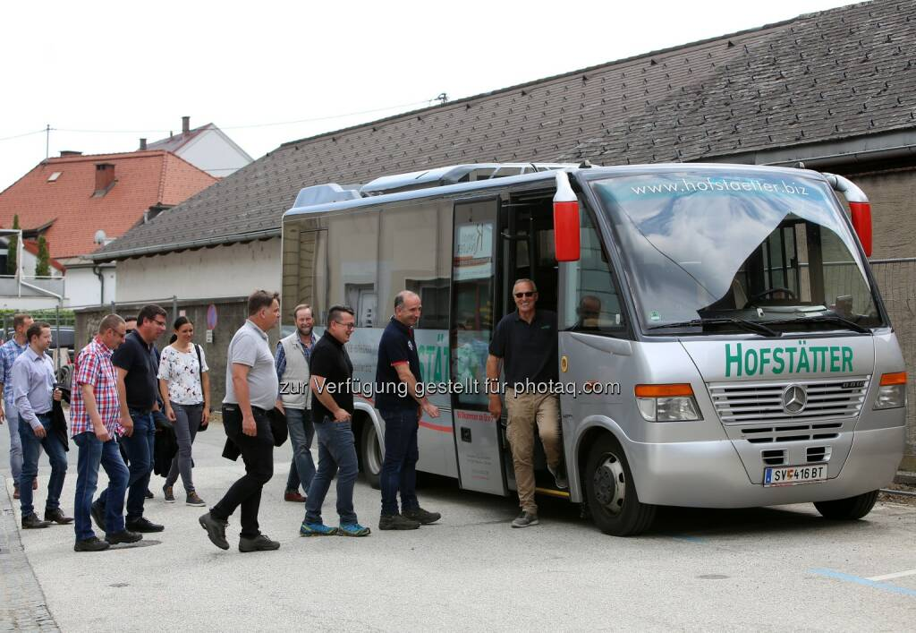 MinenTag European Lithium 2018, Bus, © European Lithium (31.05.2018)