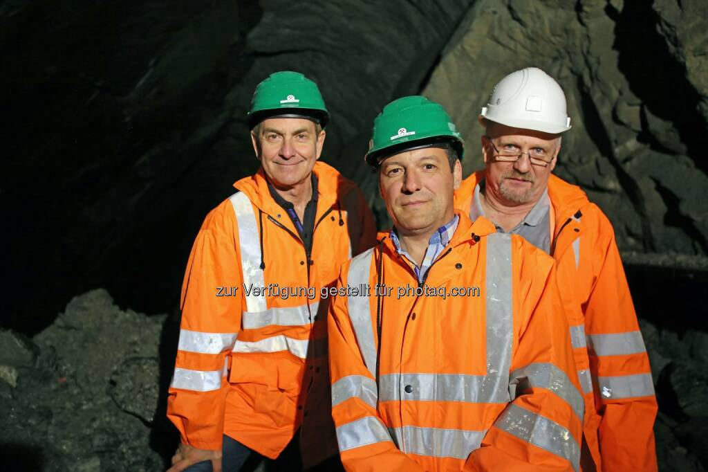 Tony Sage, Stefan Müller, Dietrich Wanke, MinenTag European Lithium 2018, © European Lithium (31.05.2018)