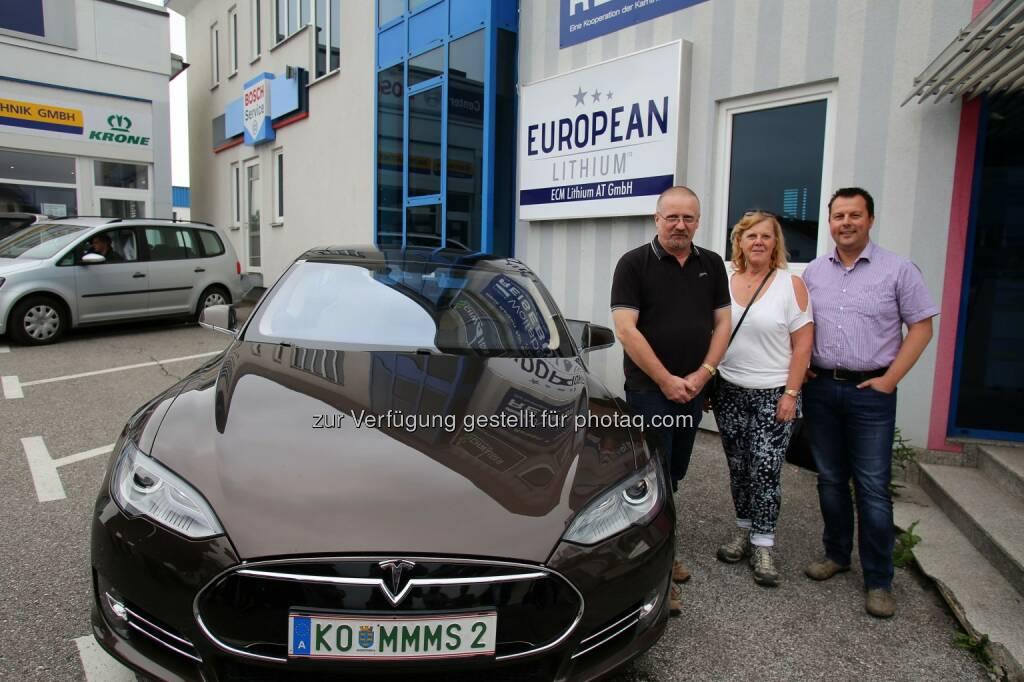 Dietrich Wanke, MinenTag European Lithium 2018, Tesla, © European Lithium (31.05.2018)