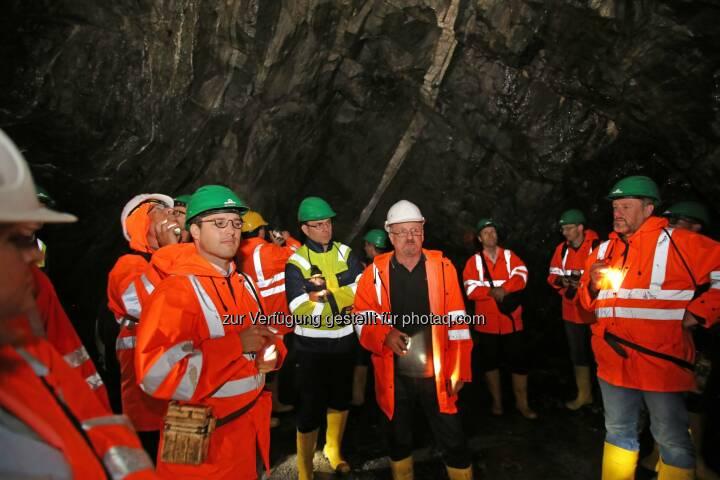 MinenTag European Lithium 2018 Stollen