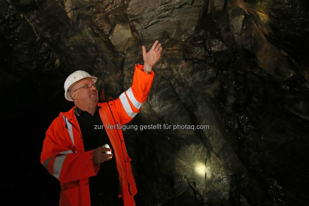 Dietrich Wanke, MinenTag European Lithium 2018 Stollen, © European Lithium (31.05.2018)