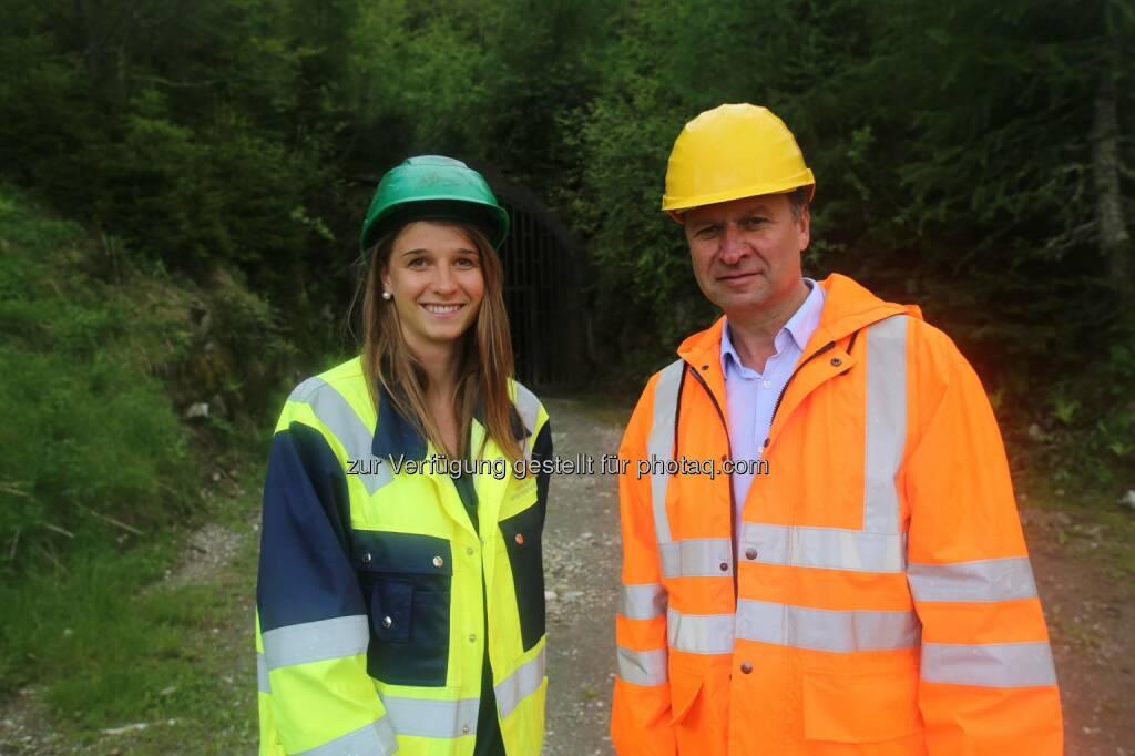 Katharina Löckinger, MinenTag European Lithium 2018, © European Lithium (31.05.2018)
