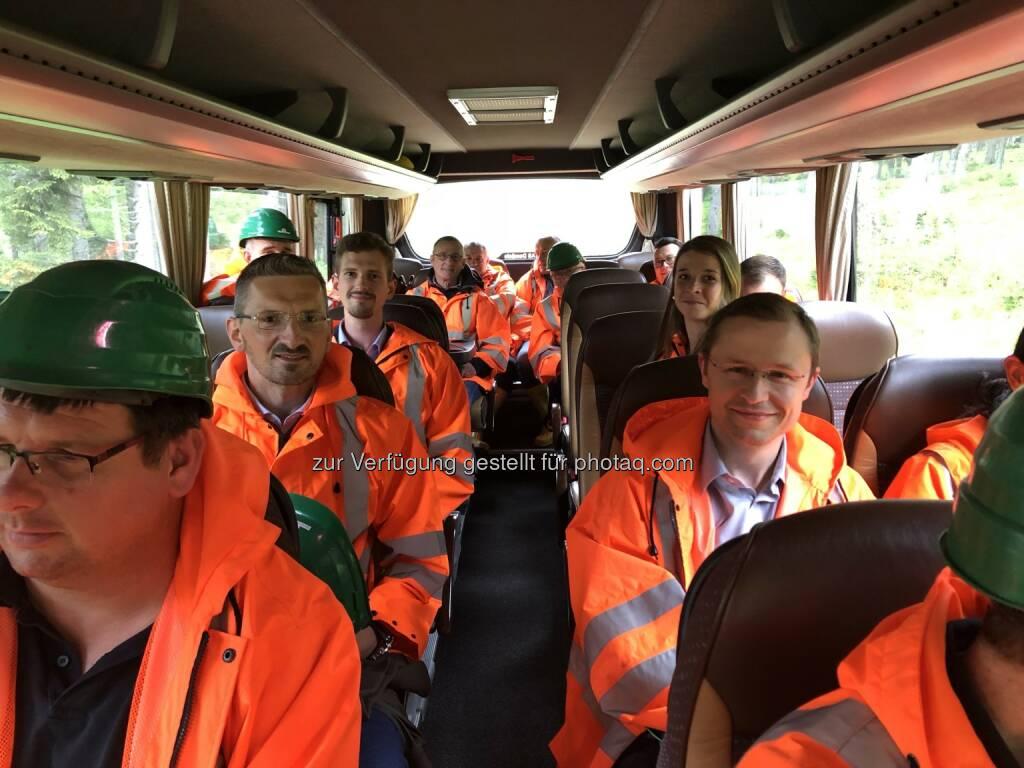MinenTag European Lithium 2018 Bus, © European Lithium (31.05.2018)