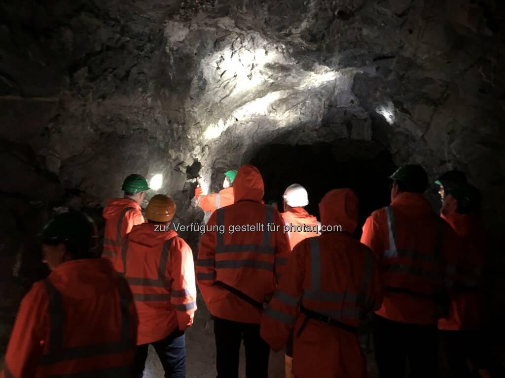 MinenTag European Lithium 2018 Stollen, © European Lithium (31.05.2018)