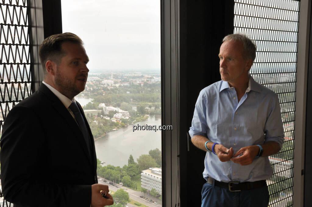 Patrick Sokolovsky (onstex), Christian Drastil (BSN) (05.06.2018)