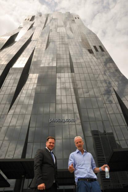 Patrick Sokolovsky (onstex), Christian Drastil (BSN), DC Tower (05.06.2018)