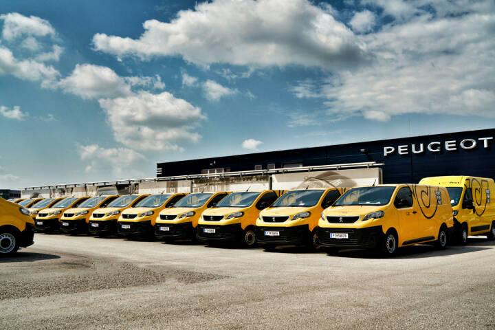Peugeot konnte eine umfangreiche Ausschreibung der Österreichischen Post AG für sich entscheiden und damit einen bedeutenden Großauftrag an Land ziehen. Konkret bestellte die Österreichische Post AG mehr als 1000 Fahrzeuge der Typen Peugeot Expert und Peugeot Boxer. Fotocredit: Oliver Weberberger für Peugeot