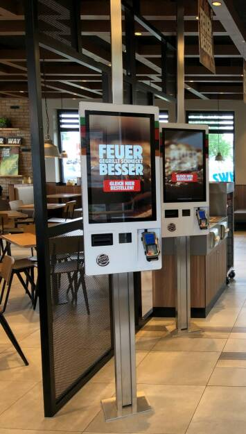 BURGER KING® launcht erste Order Terminals; Fotocredit:BURGER KING, © www.shutterstock.com (08.06.2018)