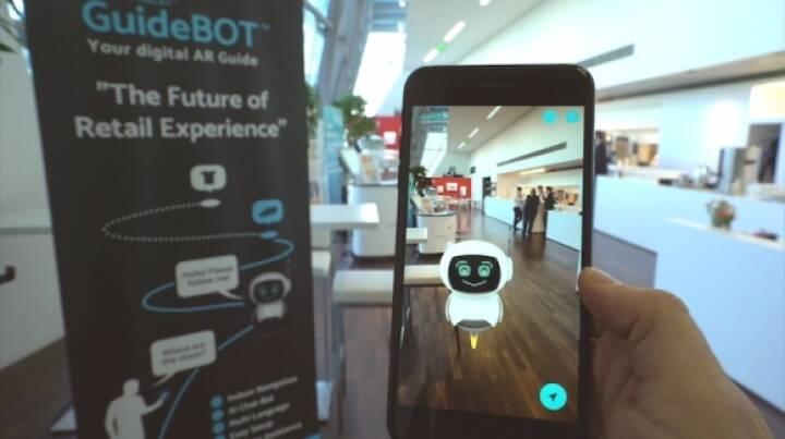 Wiener Tech-Firma ViewAR stellt auf der AWE in Santa Clara das erste ausgereifte SDK-Modell vor und läutet ein neues Zeitalter der Augmented-Reality-Indoor-Navigation und Verkaufsberatung ein. © ViewAR
