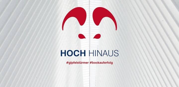 Hoch Hinaus #gipfelstürmer #bockauferfolg - S Immo Imagekampagne