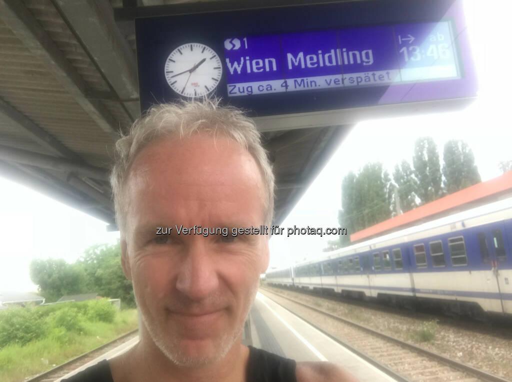 Nach 28k kreuz und quer bei der S Bahn in Süssenbrunn (13.06.2018)