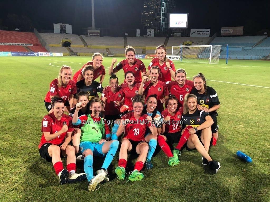 Österreichische Fußballnationalmannschaft der Frauen (14.06.2018)