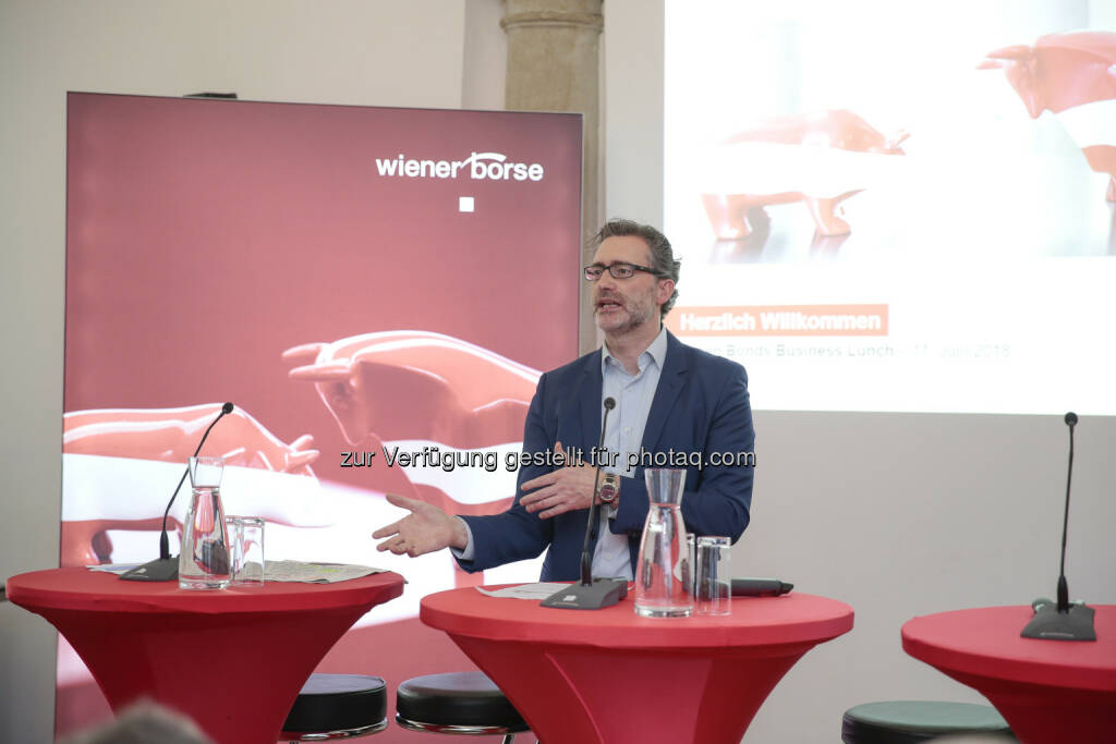 Martin Wenzl (Wiener Börse), © Wiener Börse AG /APA-Fotoservice/Tanzer (18.06.2018)