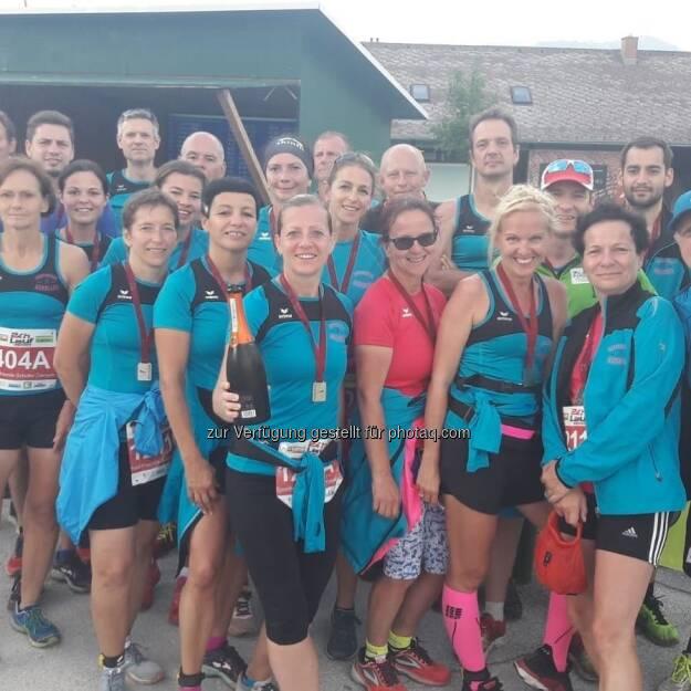 Team des 24h Laufs in Irdning (01.07.2018)