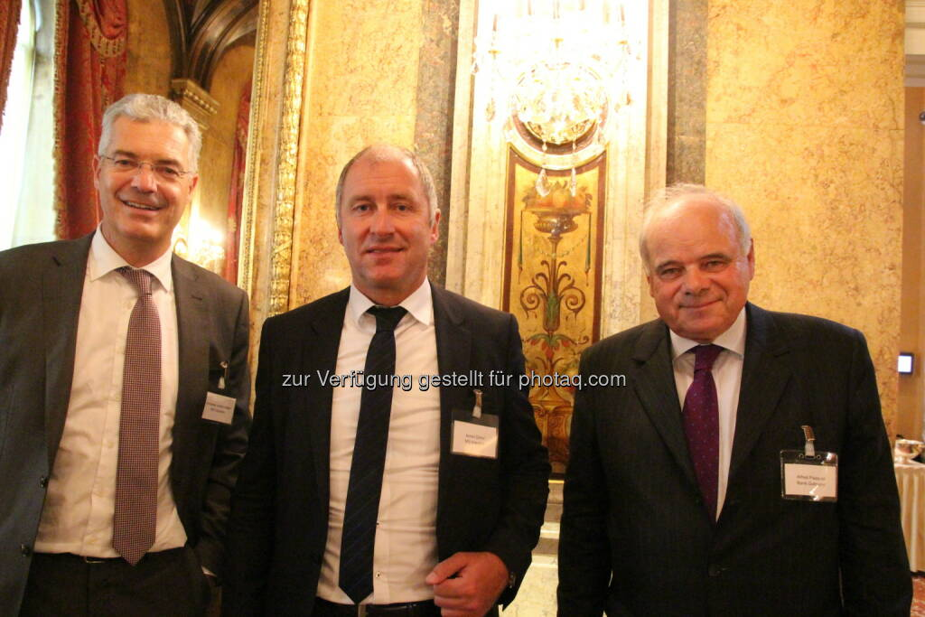 Andreas Aufschnaiter, Armin Distel, Alfred Paquali (Bank Gutmann), Bild: www.familyofficeday.at (02.07.2018)
