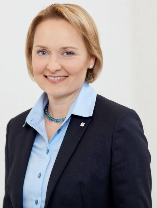 Liane Hirner wird neues Vorstandsmitglied der Vienna Insurance Group (VIG). Ab 1. Juli 2018 wird sie die Funktion des Finanzvorstandes übernehmen. Bild: VIG