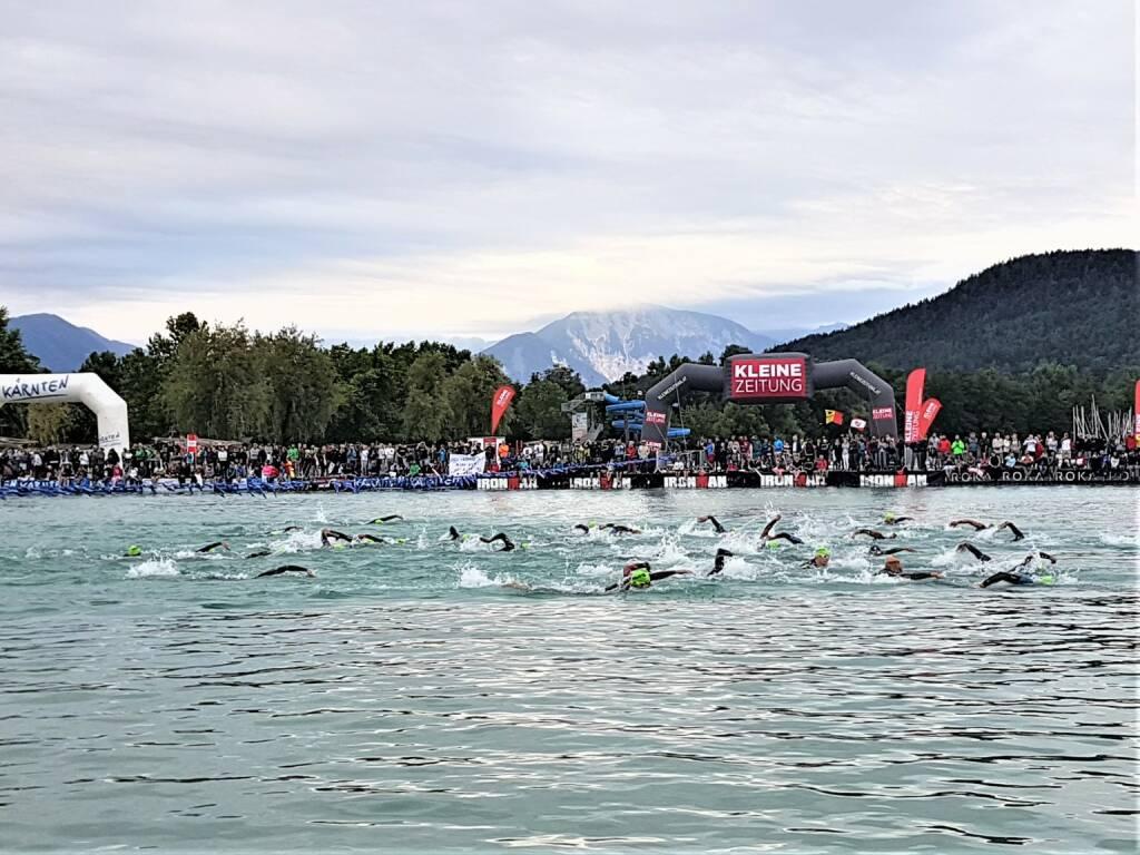 Über 100 DB Schenker Experten kommen aus ganz Österreich für den IRONMAN am 1. Juli 2018 in Klagenfurt zusammen und kümmern sich um die umfangreiche Versorgung der rund 3.300 Triathleten aus über 63 Nationen; Fotocredit:DB Schenker, © Aussendung (04.07.2018)