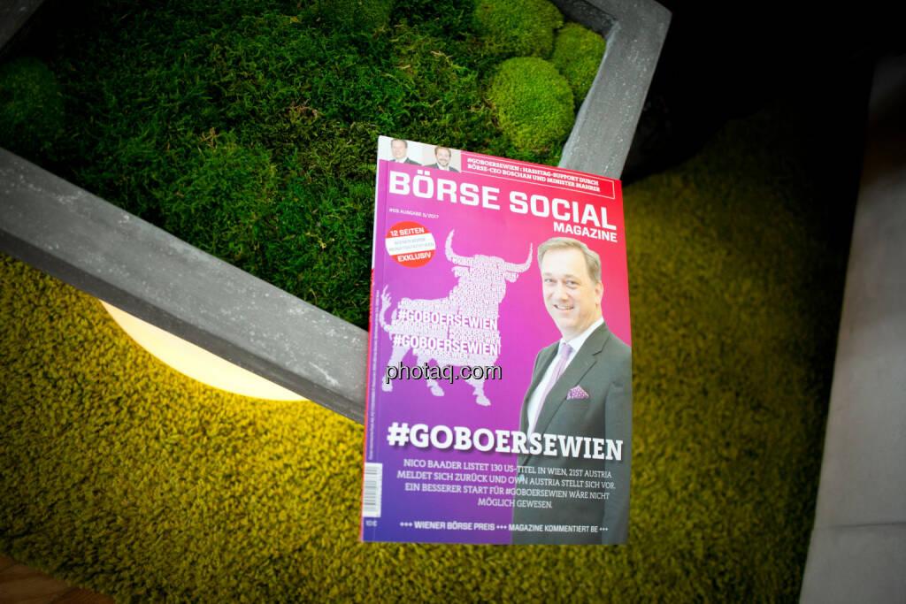 Börse Social Magazine, Moos, © Michaela Mejta/photaq.com (11.07.2018)