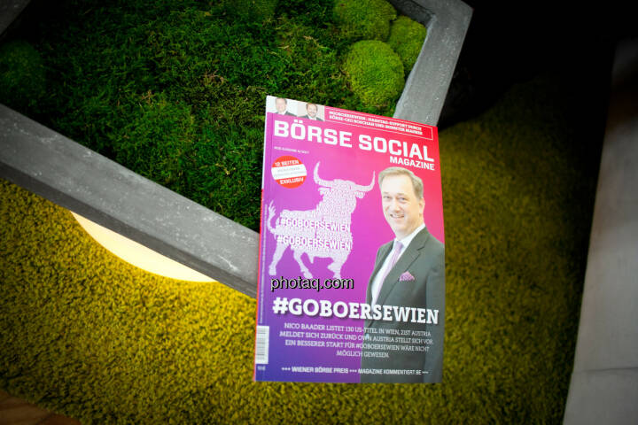 Börse Social Magazine, Moos