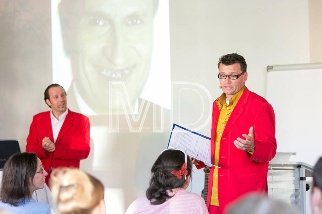Hubert Frings (WirrSinn), Bernhard Widhalm (WirrSinn), © Martina Draper (13.06.2013)