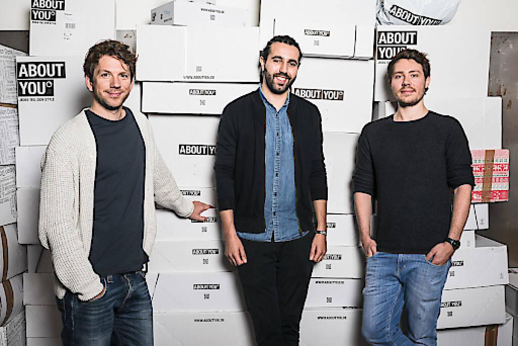 Heartland A/S, Beteiligungsholding eines der größten europäischen Bekleidungsunternehmen, der Bestseller A/S, steigt als neuer Investor bei ABOUT YOU ein. Die Beteiligung erfolgt im Rahmen einer Kapitalerhöhung von rund 300 Millionen US-Dollar und auf Basis einer Unternehmensbewertung von ABOUT YOU in Höhe von über einer Milliarde US-Dollar. Damit ist das schnell wachsende Fashion-Tech-Start-Up der Otto Group das erste so genannte Unicorn aus Hamburg. Fotocredit:About You GmbH (19.07.2018)