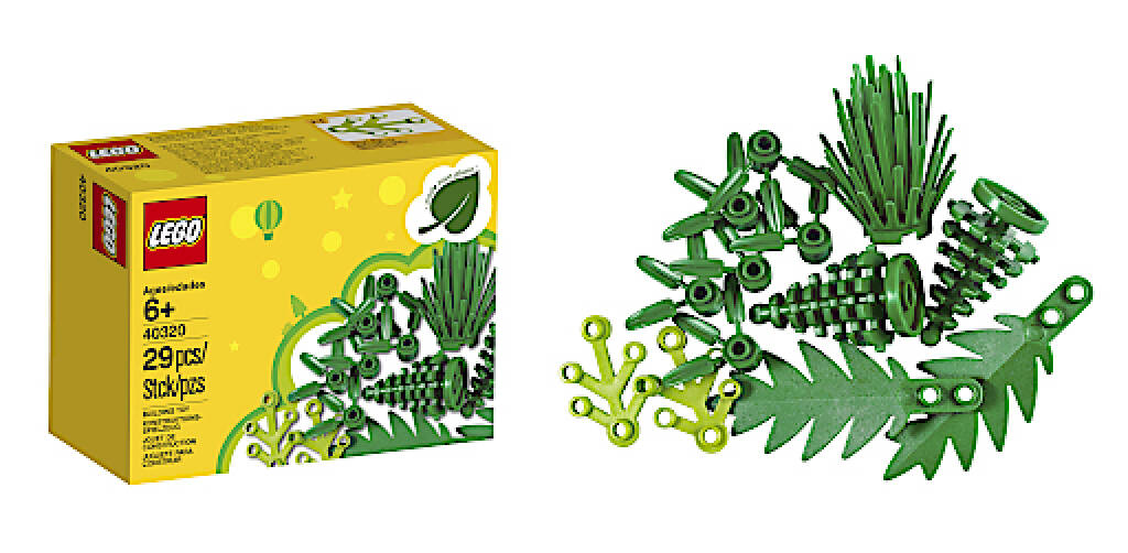 Anfang des Jahres kündigte die LEGO Gruppe die Einführung der ersten nachhaltigen LEGO Elemente auf Zuckerrohrbasis an. Ab November werden sie in einem Produkt der LEGO Creator Expert Reihe enthalten sein. Credit: obs/LEGO GmbH, © Aussender (26.07.2018)