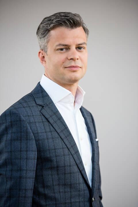 Nun fix: Thomas Arnoldner, CEO, A1 Telekom Austria Group (ab 1. September 2018), Credit: Telekom Austria