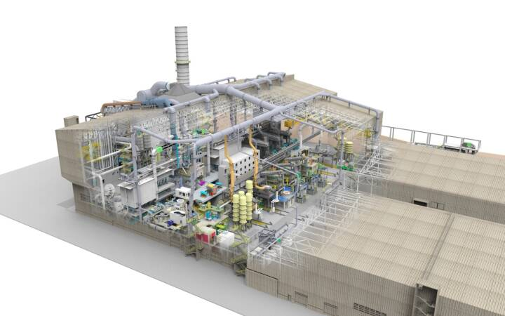 Lieferung der Hauptaggregate des Schmelzbereiches für das neue voestalpine Edelstahlwerk in Kapfenberg (©SMS group)