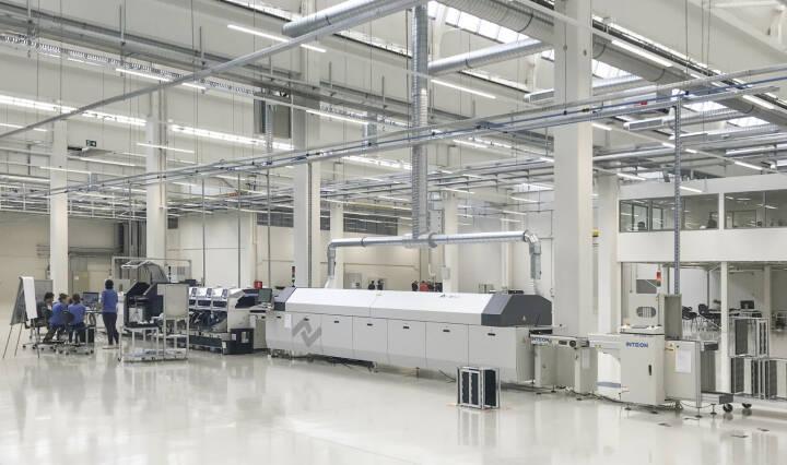 Neues Werk in Niš, Serbien, trägt entscheidend zur Verbesserung der Wettbewerbsfähigkeit der Zumtobel Group bei; Bild: Zumtobel