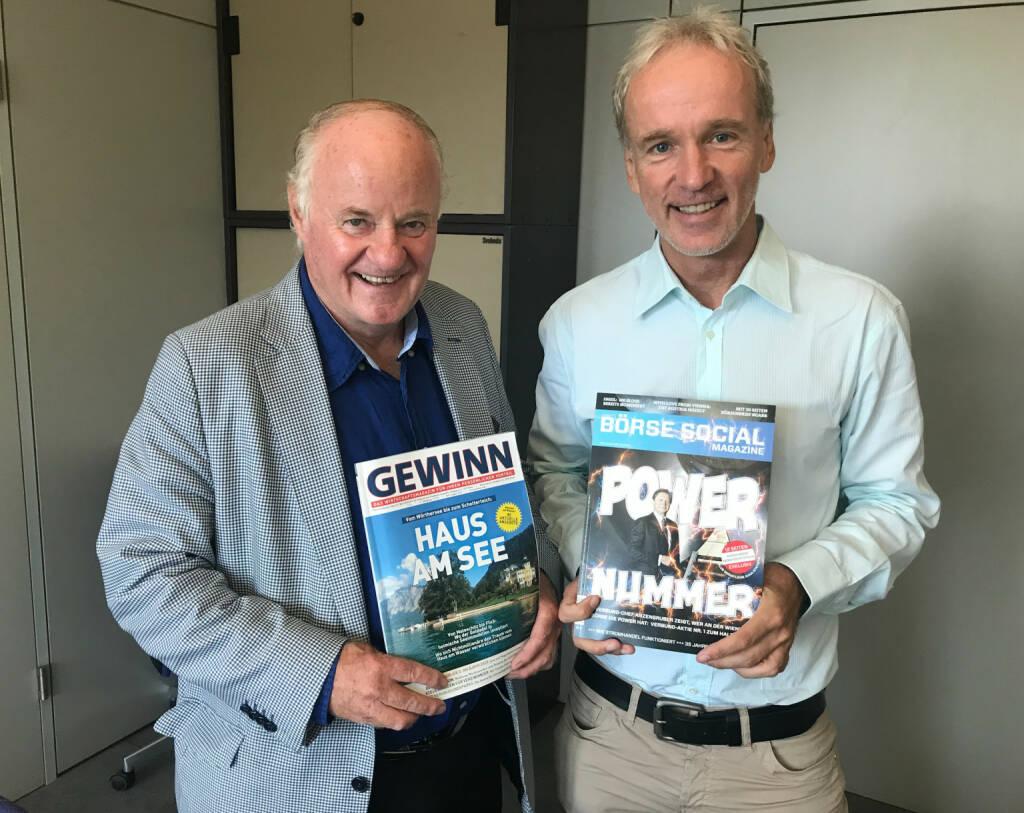 Mit Georg Wailand (Gewinn, Krone) (02.08.2018)