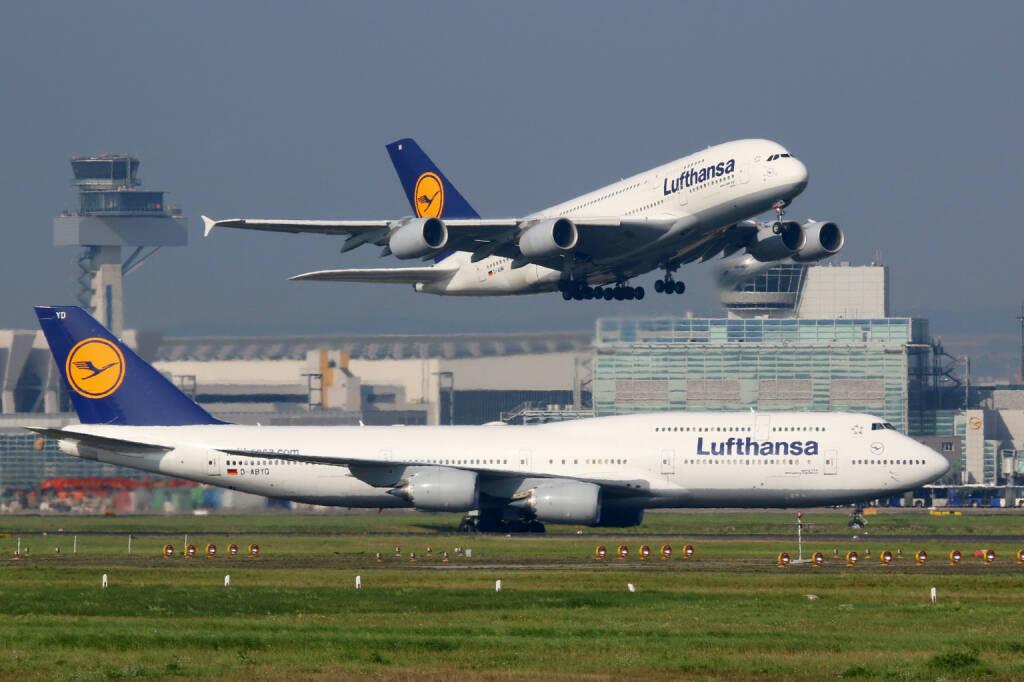 Lufthansa, Flugzeug, Flughafen - https://de.depositphotos.com/56560641/stock-photo-lufthansa-airplanes-at-frankfurt-airport.html, &copy; <a href=