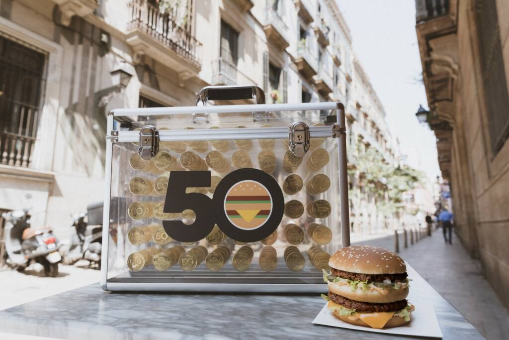 McDonald's Österreich: McDonald's feiert 50 Jahre Big Mac; Fotocredit: McDonald's Österreich, © Aussender (03.08.2018)