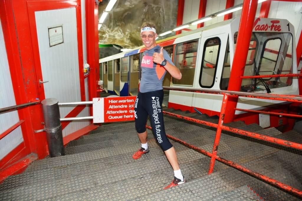 Rolf Majcen, Metro Alpin in Saas Fee, © Aussendung (06.08.2018)