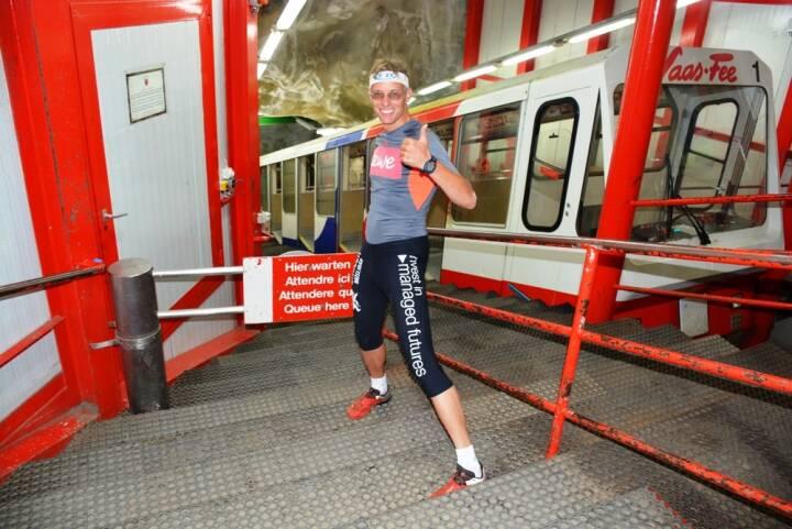 Rolf Majcen, Metro Alpin in Saas Fee